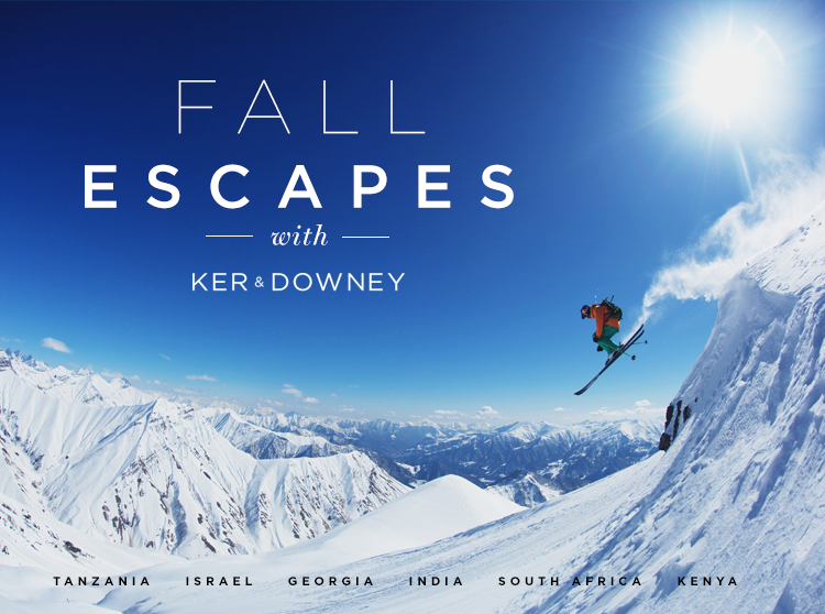 Fall Escapes with Ker & Downey