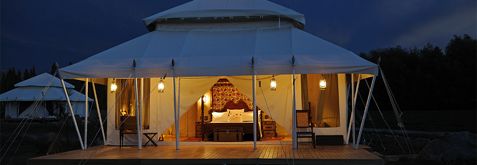 Chamba Camp-Ker-Downey-India Luxury Hotel