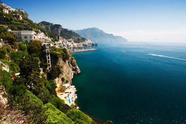 amalfi coast in italy