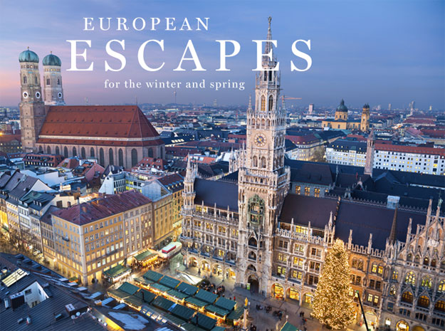 winter and spring european journeys