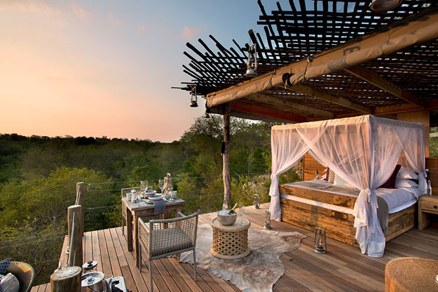 Africa Sleepouts | Lion Sands Kingston Treehouse, South Africa | Ker Downey