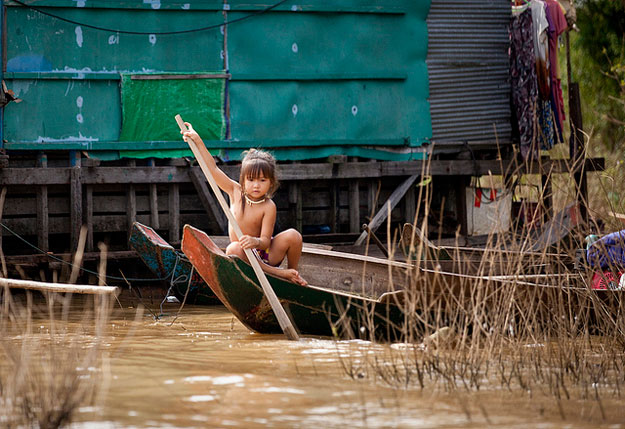 Tonle Sap Floating Village | Tonle Sap Lake | Cambodia Luxury Travel | Ker Downey