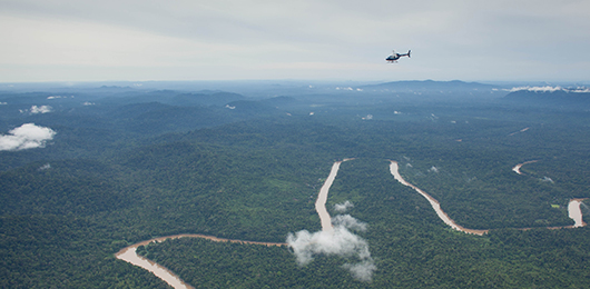 Wild Borneo by Helicopter
