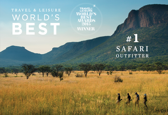 Top Safari Outfitter: Ker & Downey #1 in World's Best Awards