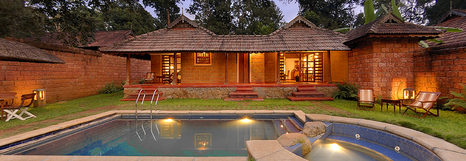 Orange county coorg kodagu luxury india hotel india Hotels in coorg with swimming pool