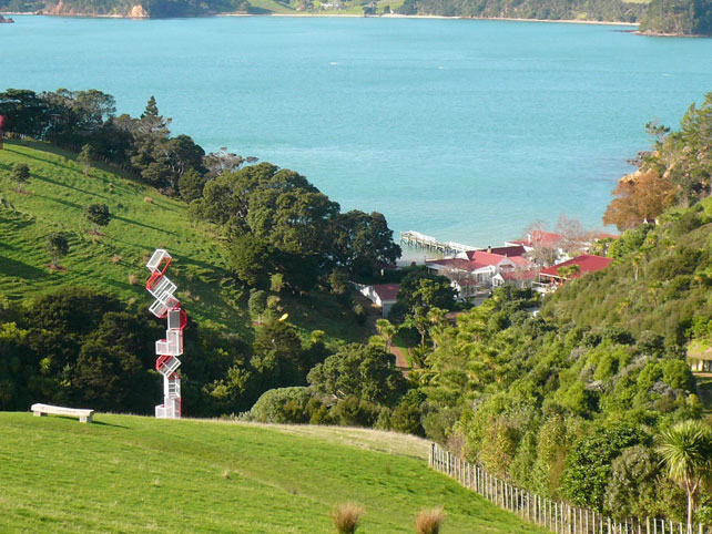 Waiheke Island | Luxury New Zealand Travel | Connells Bay Sculpture Park | Ker Doweny