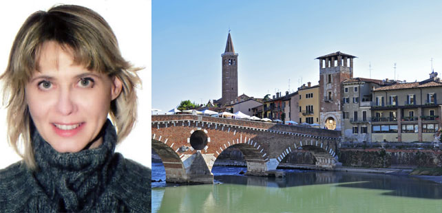 Marina Menegoi | Female Guide in Verona, Italy