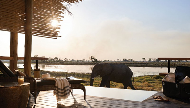 Luxury Private Plunge Pools - Belmond Eagle Island - Botswana - Ker Downey