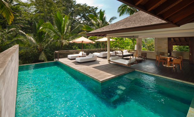 Luxury Private Plunge Pools - Como Shambhala Estate - Bali - Ker Downey