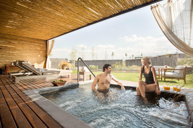 Luxury Private Plunge Pools - The Vines Resort Mendoza - Argentina - Ker Downey