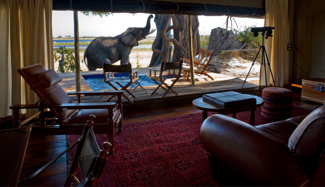 Luxury Private Plunge Pools - Zarafa Camp - Botswana - Ker Downey