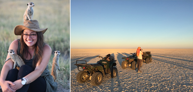 Tiffany's Stay at Some of the Best Camps in Botswana