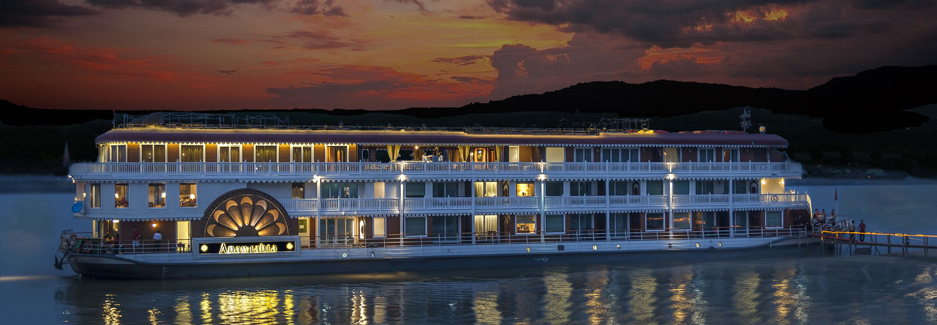 Anawrahta Cruise Ship - Luxury Myanmar Irrawaddy Cruise with Ker & Downey