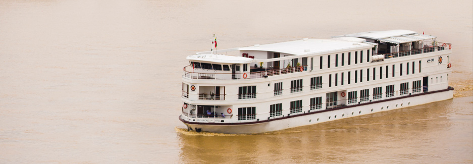 Belmond Oracella - Luxury Myanmar Ship - Luxury Cruise with Ker & Downey