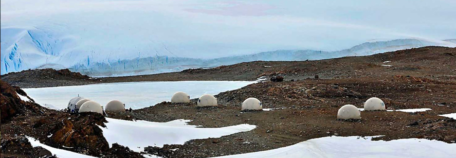 White Desert Camp - Antarctica Adventure Camp - Luxury Travel with Ker & Downey
