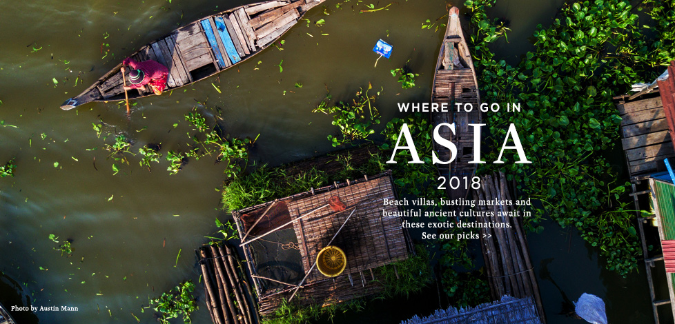 Where to go in Asia
