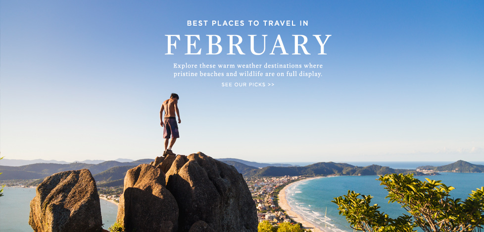 Travel in February